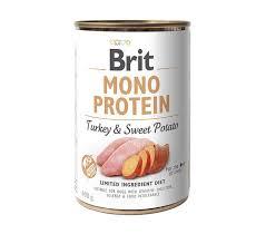 Mono protein pavo y papa dulce