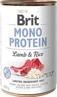 Mono protein - cordero y arroz
