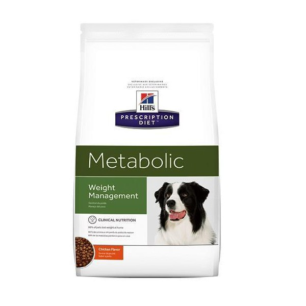 Canine prescription diet metabolic