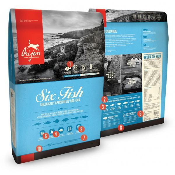 Six fish 11.3kg