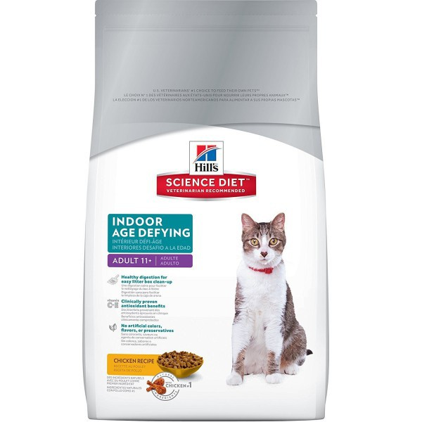 Alimento gato adult indoor 11+