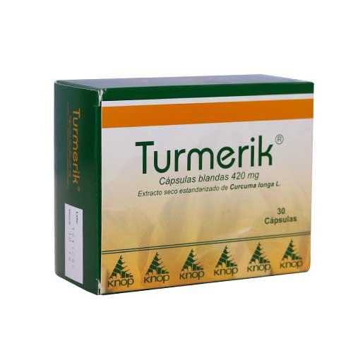 Turmerik  420 mg. 30 CAPSULAS
