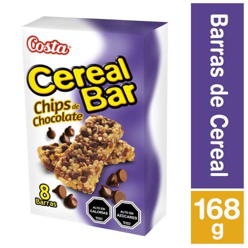 Barra Cereal Bar chips de chocolate