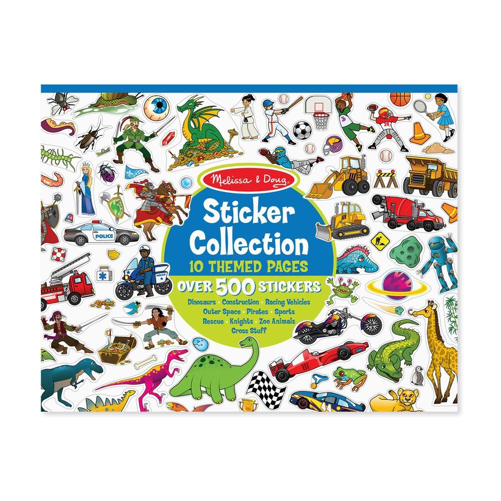Pad colección stickers niño Envoltorio plástico 36 cm x 28 cm x 1 cm, 350 grs.