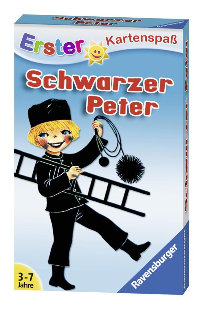 Juego schwarzer peter Caja 30 cm x 20 cm x 20 cm, 100 grs.