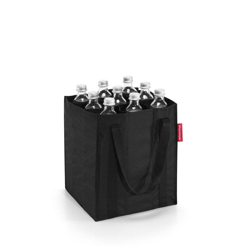 Bolso botellero - bottlebag negro 1 un