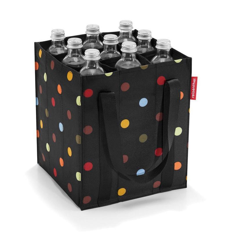 Bolso botellero diseño puntos 1 un
