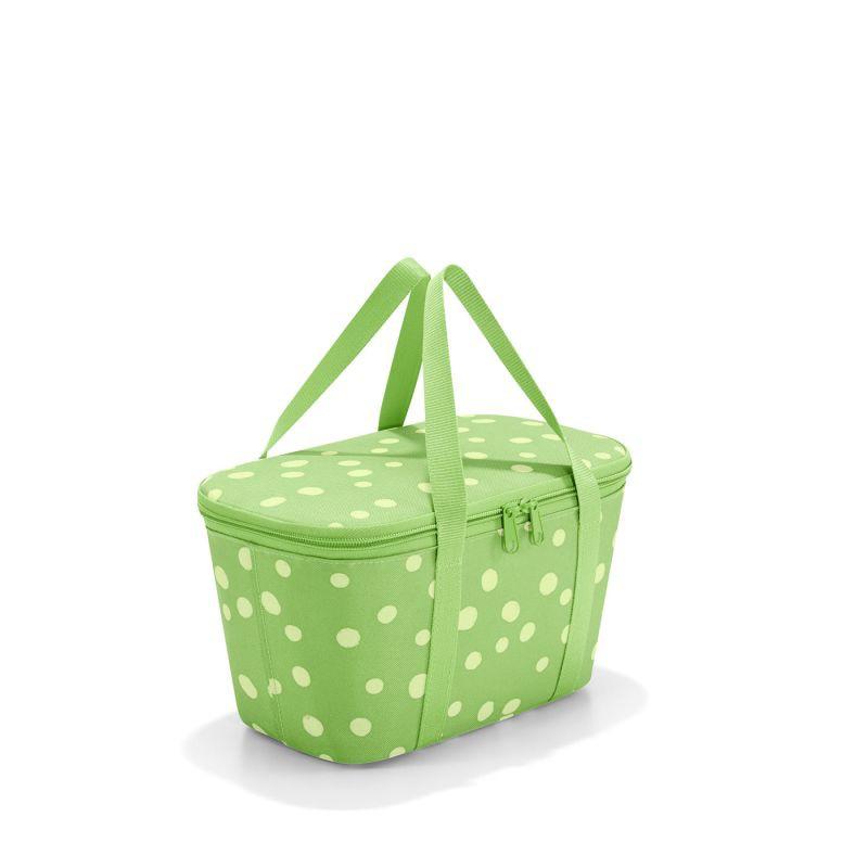 Mini cooler - coolerbag xs spots green Medidas: 27,5 x 15,5 x 12 cm    4L