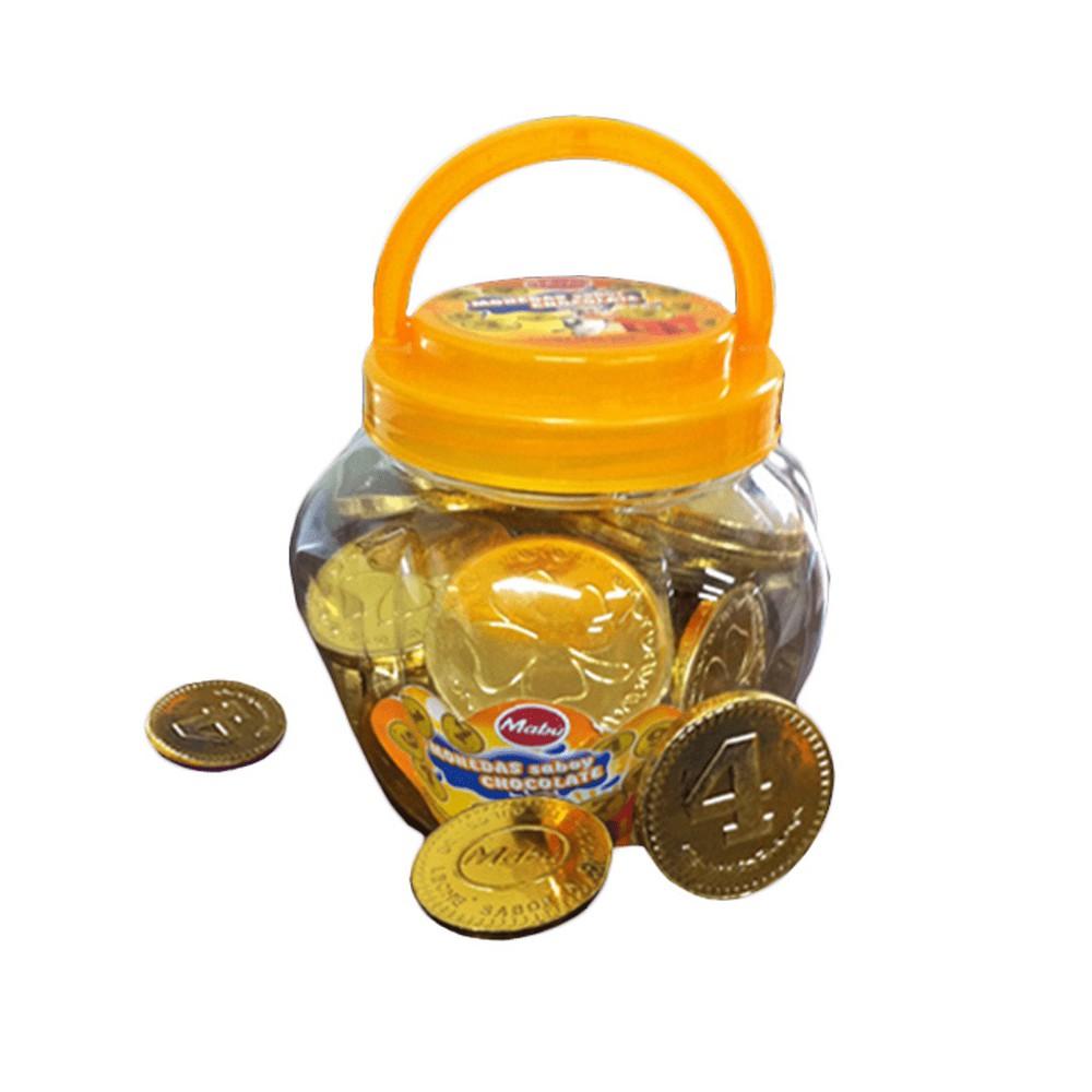 Monedas de Chocolate x 50 Envase con 50 Monedas
