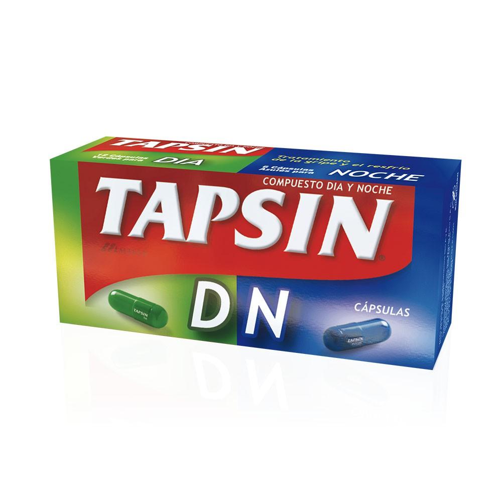 Tapsin Dn Dia/Noche Capsulas 18 Capsulas