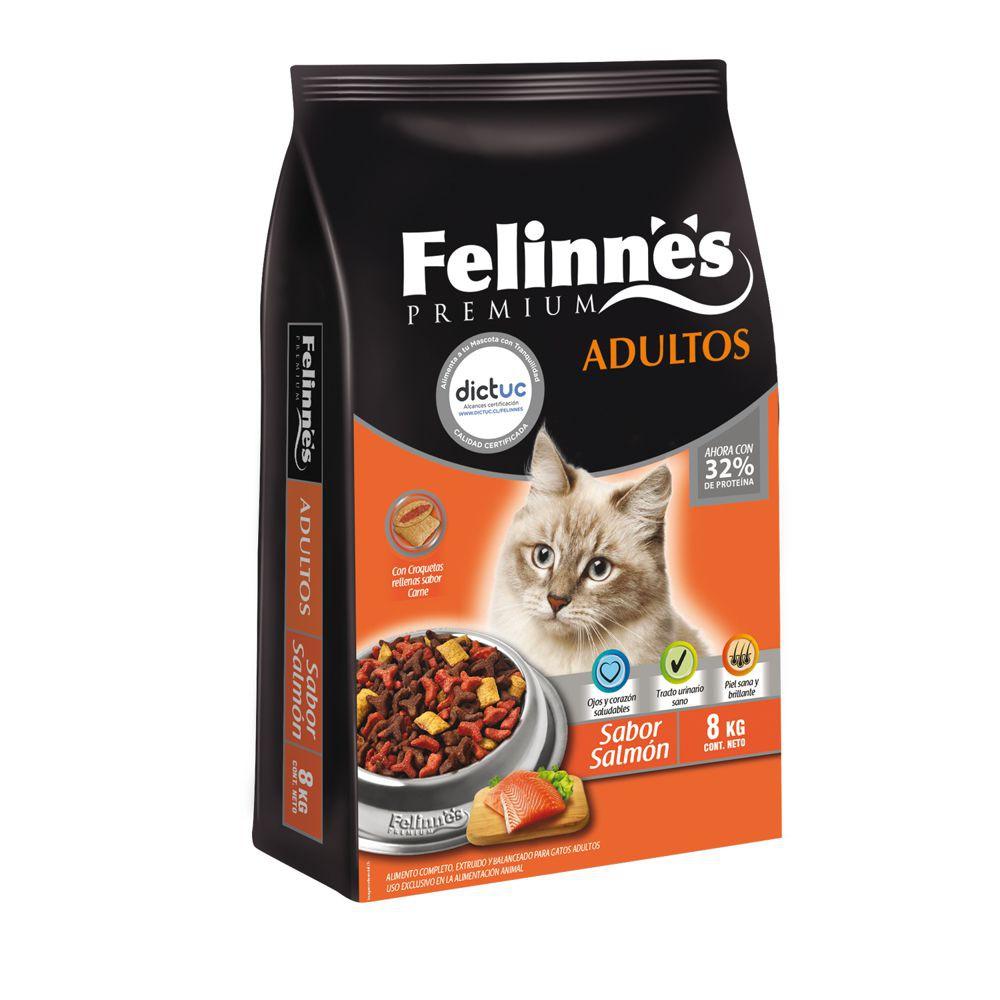 Alimento gato adulto sabor salmón