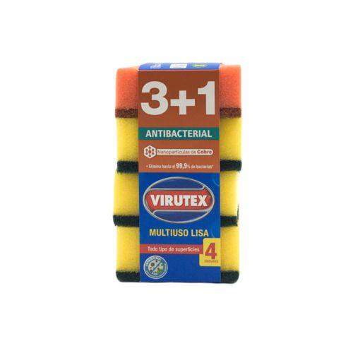 Pack esponja multiuso antibacterial