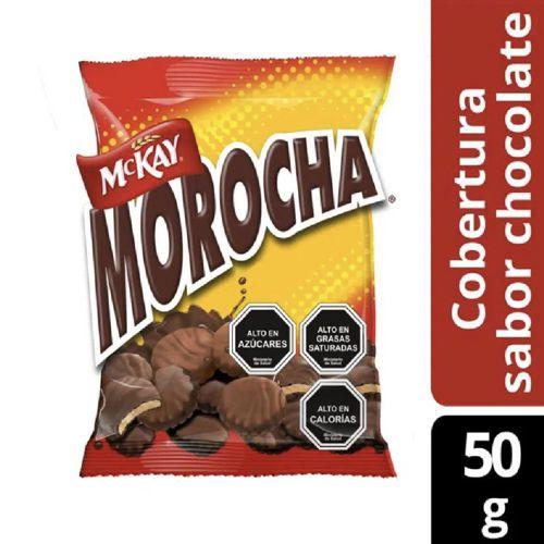 Galletas mini sabor vainilla bañadas en chocolate