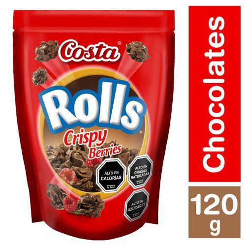 Chocolate Rolls crispy berries