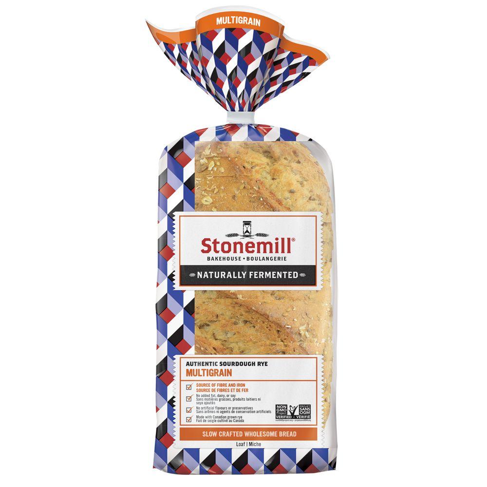 Authentic sourdough rye multigrain bread