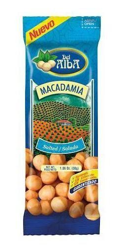 Pasabocas Del Alba Macadamia