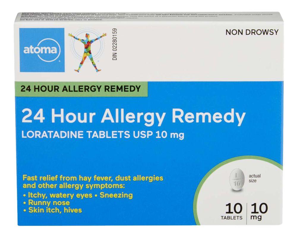 Loratadine Allergy 10Mg Tab 10