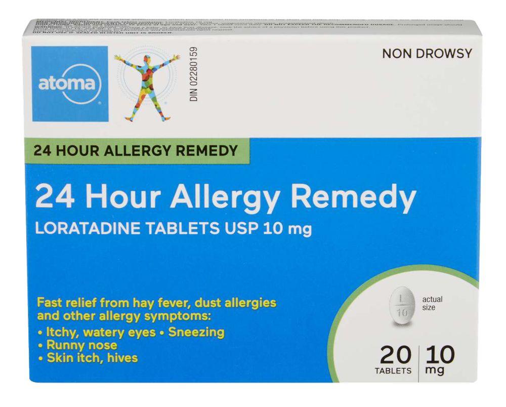 Loratadine Allergy 10Mg Tab 20