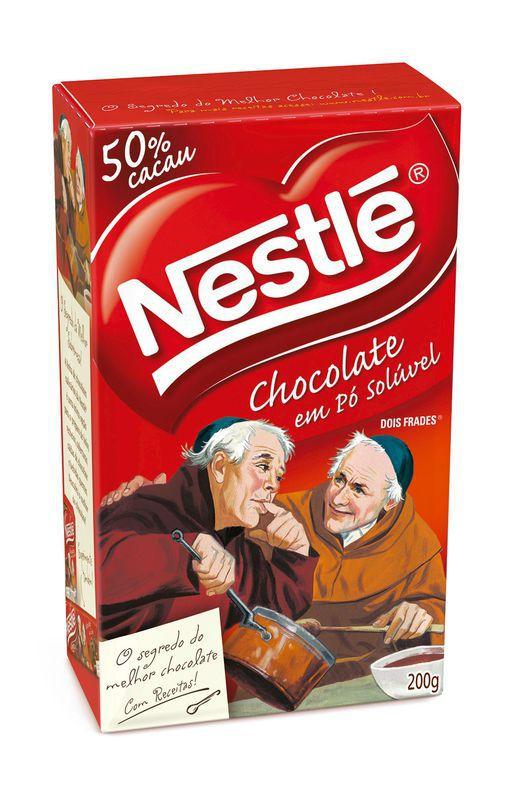 Chocolate em pó Dois frades
