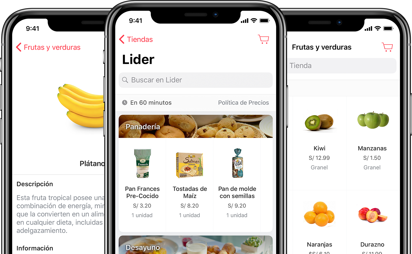 Cornershop para iPhone y iPad.