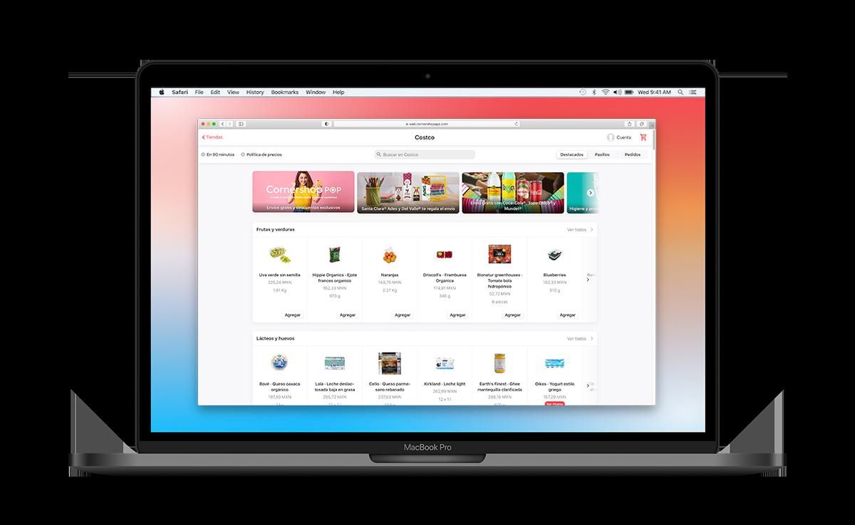 Ouvrir l'application web
