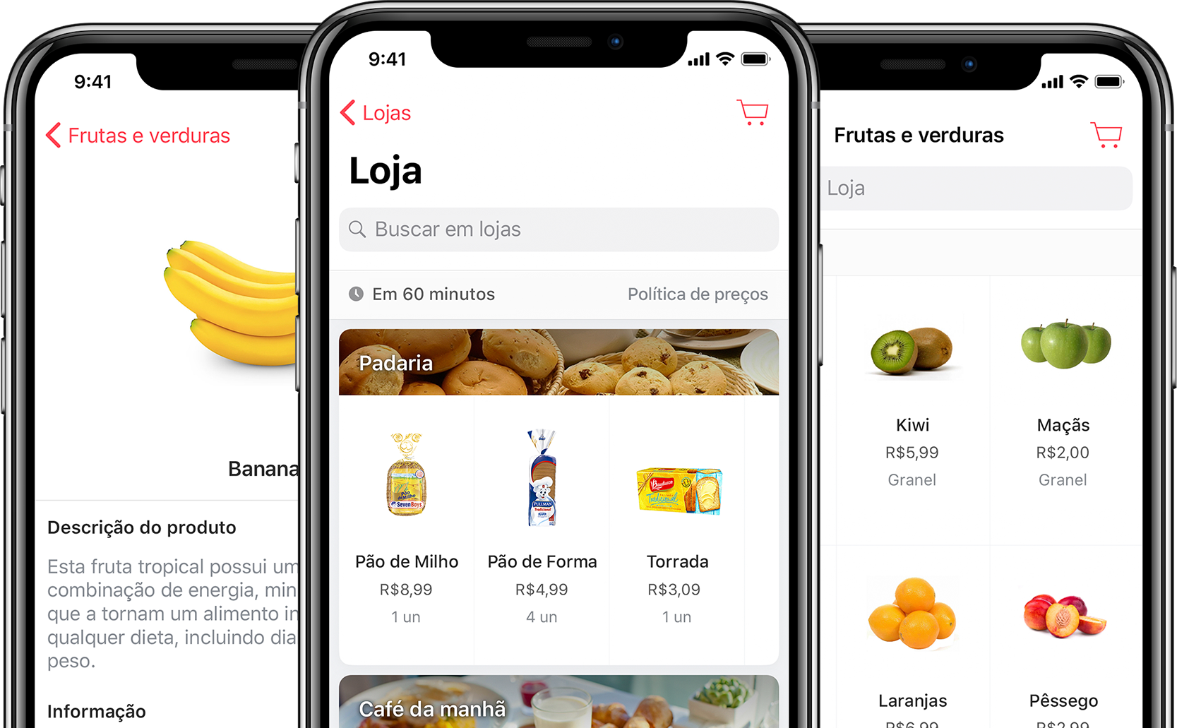 Cornershop para iPhone e iPad.
