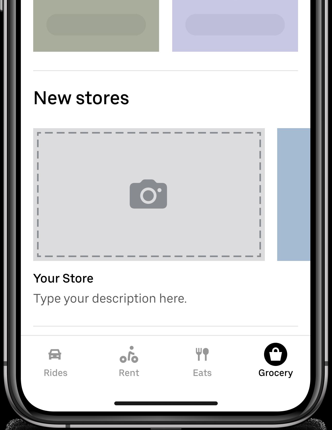Cornershop inside the Uber app