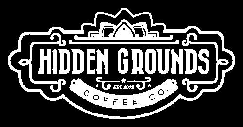 Logo Hidden Grounds Coffee
