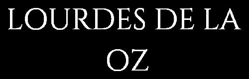 Logo Lourdes de la Oz