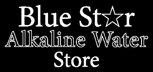 Logo Blue Star Alkaline Water Store Health Market