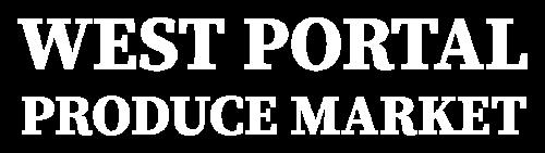 Logo West Portal Produce Market