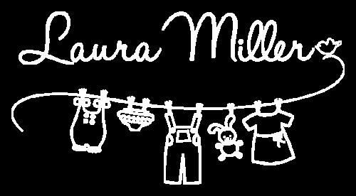 Logo Laura Miller ropa de niños