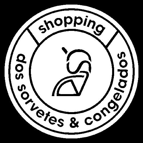 Logo Shopping dos sorvetes e congelados