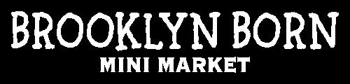 Logo Brooklyn Born Mini Market