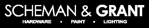 Logo Scheman & Grant Hardware