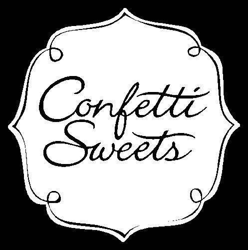 Logo Confetti Sweets