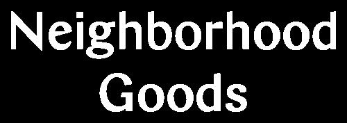 Logo Neighborhood Goods