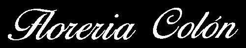 Logo Florería Colón