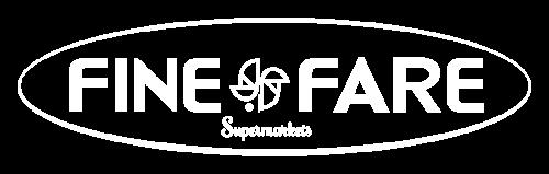 Logo Fine Fare Supermarket Brooklyn