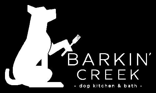 Logo Barkin' Creek Dog Kitchen & Bath