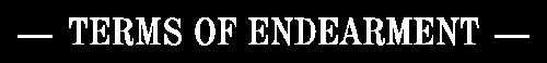 Logo Terms of Endearment