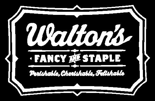 Logo Walton's Fancy and Staple