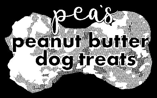 Logo Pea's Peanut Butter Dog Treats