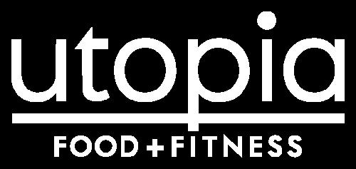 Logo Utopia Food + Fitness
