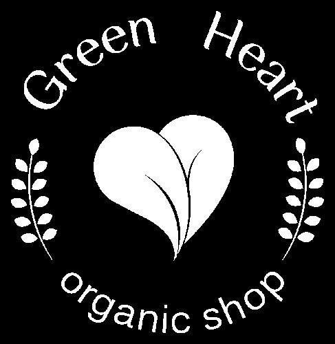 Logo Green heart - organic shop
