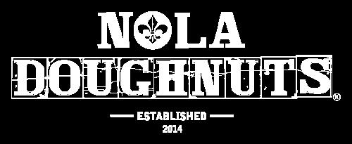 Logo NOLA Doughnuts.