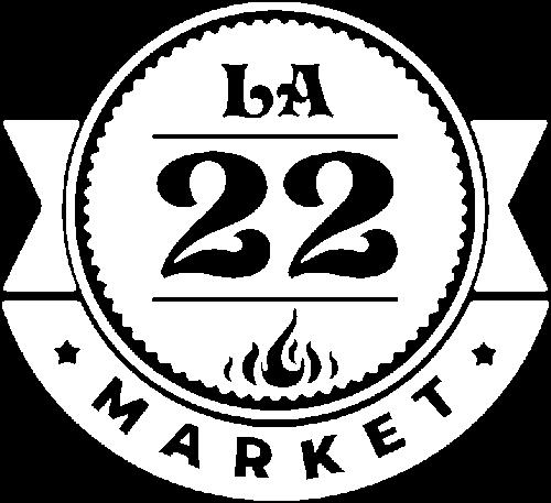 Logo La 22 market