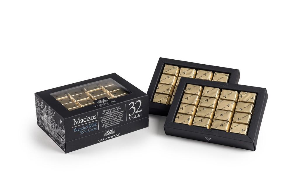 Caja chocolate blended milk 220 g