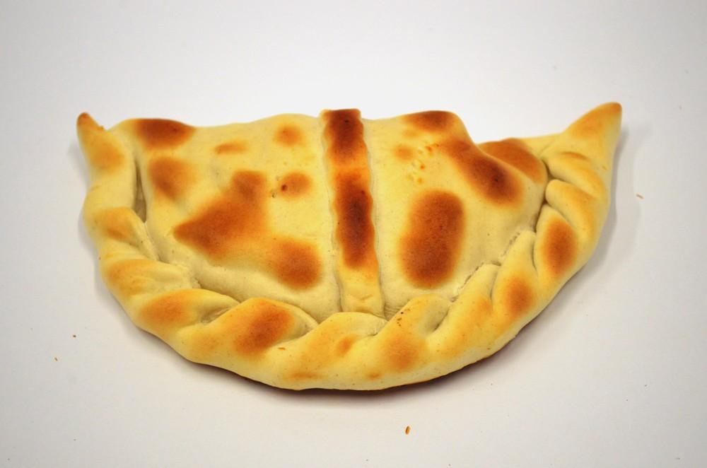 Empanada grande queso con camarón 160 grs.