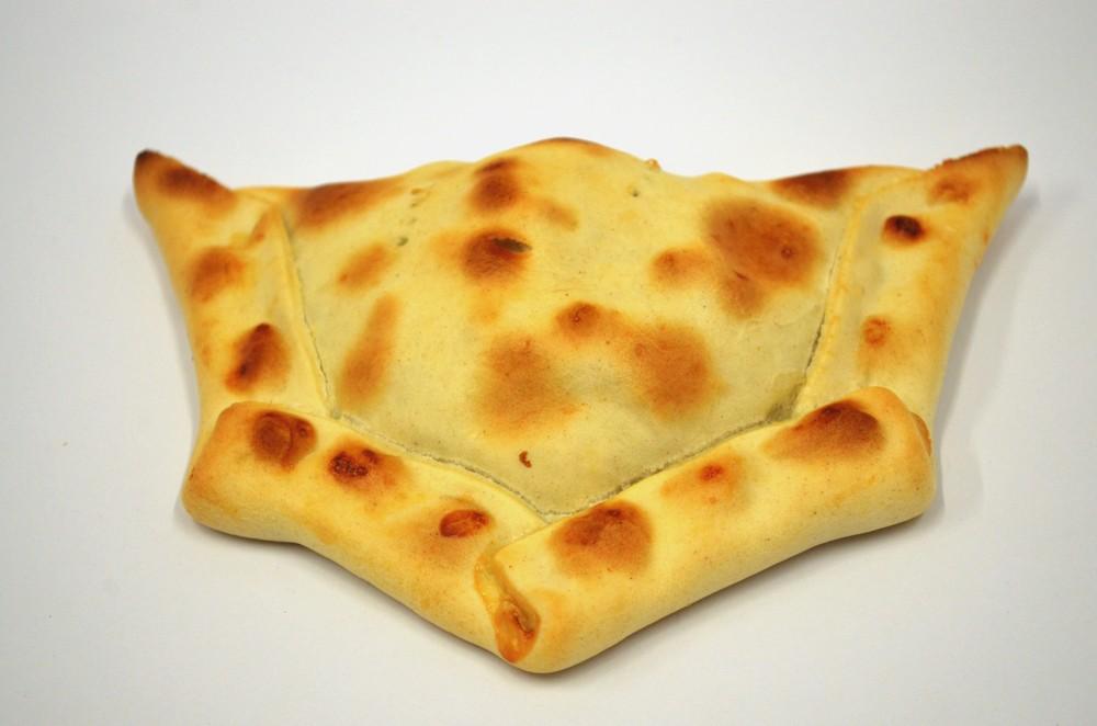 Empanada grande  queso con pollo y ciboulette 160 grs.
